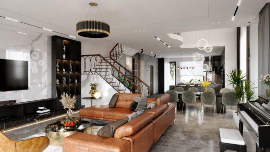 Thiết kế nội thất chung cư giá Mới nhất